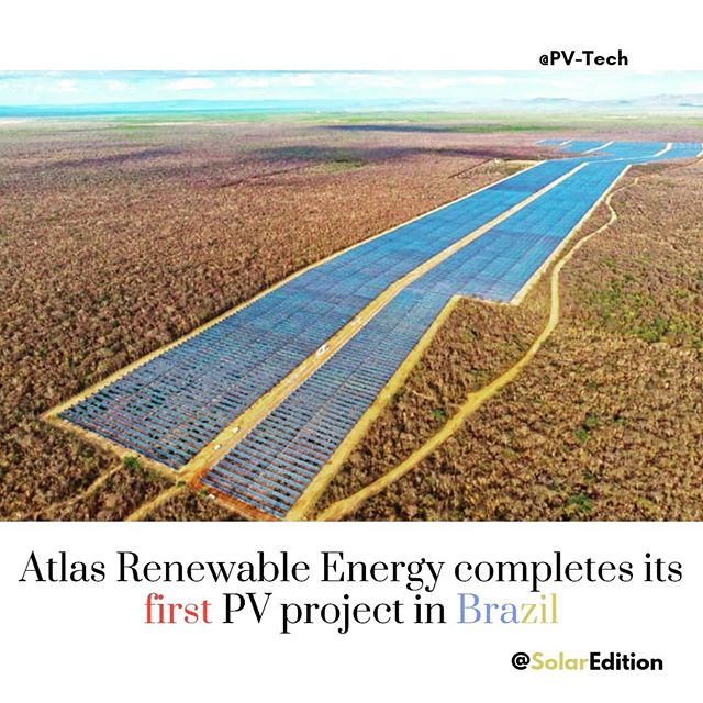 Atlas Renewable Energy completes 67 MW PV project in Brazil