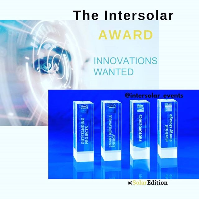 Intersolar AWARD- Powering The Future With Innovation