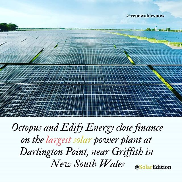 Octopus and Edify Energy close finance on the largest solar power plant