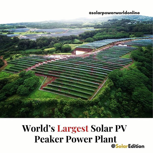 World's largest solar PV peaker power plant uses DC-coupled storage design with Ampt optimizer