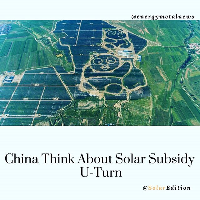 China Think About Solar Subsidy U-Turn