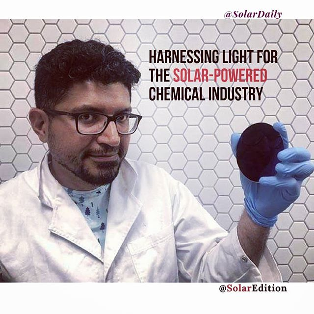 Harnessing light for the solar-powered chemical industry