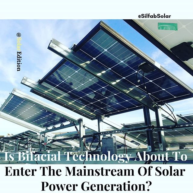 Is Bifacial Technology About To The Mainstream Of Solar Power Generation? According to Forbes news, Solar photovoltaic (PV) power led the increase in renewable energy generation around the world in 2017, with capacity growing by as much as a third during the year
