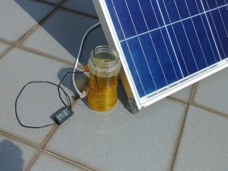 A minimal solar electric cooking setup - Image: Siu Cheung MOK