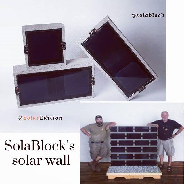 SolaBlock's solar wall