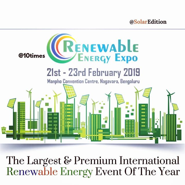 The Largest & Premium International Renewable Energy Event Of The Year