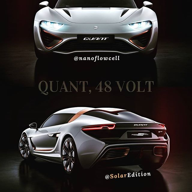 QUANT, 48VOLT: World's First Electric Sports Car