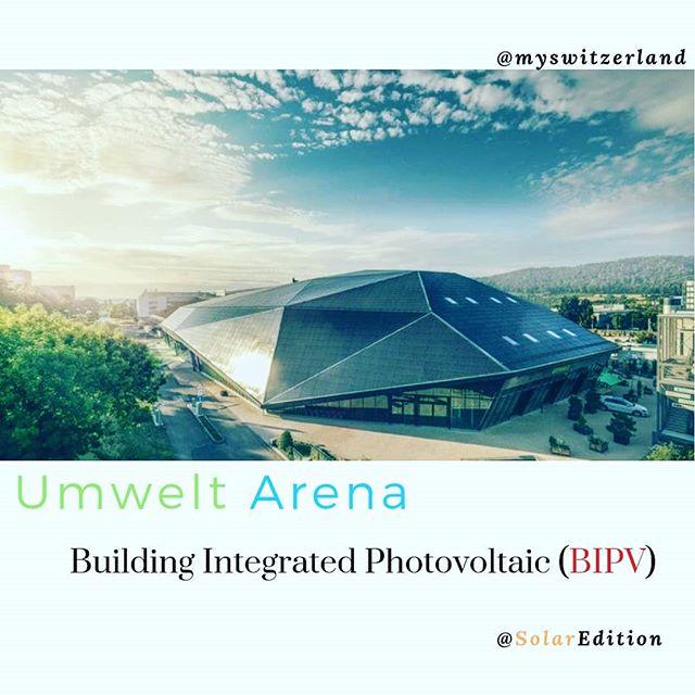 Umwelt Arena: Building Integrated Photovoltaic (BIPV)