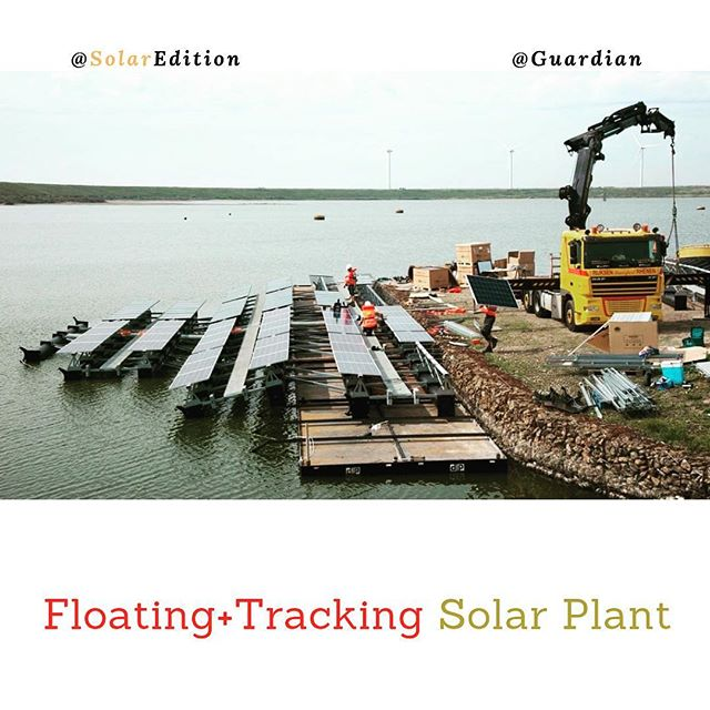 Floating Plus Tracking Solar Farm -The Largest Of Its Type In The World