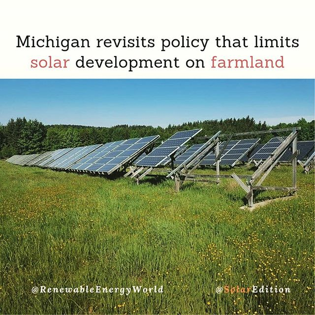 Michigan revisits the policy that limits solar development on farmland