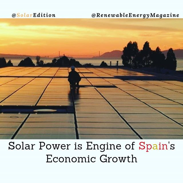 Solar Power Is Engine Of Spain's Economic Growth