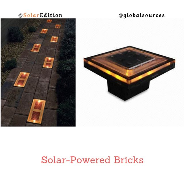 Solar-Powered Bricks