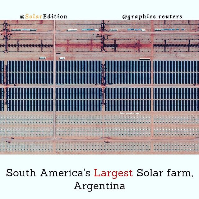South America's Largest Solar Farm, Argentina