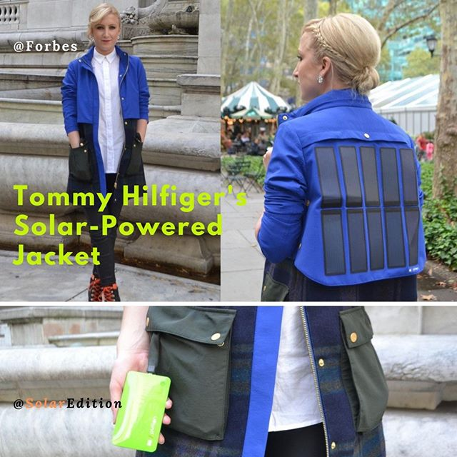 Tommy Hilfiger's Solar-Powered Jacket