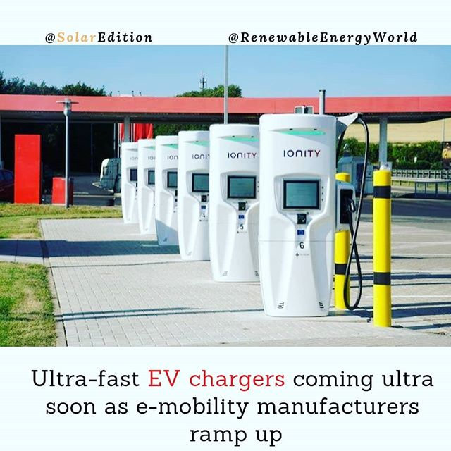 Ultra-fast EV chargers coming ultra soon as e-mobility manufacturers ramp up