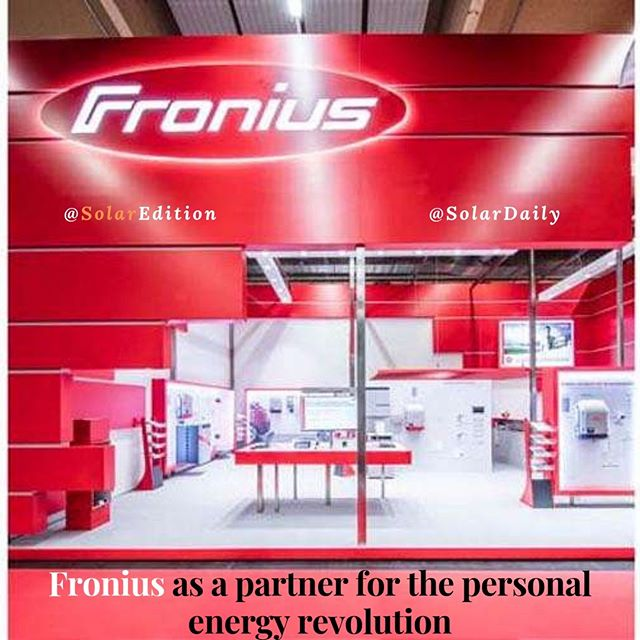Fronius as a partner for the personal energy revolution