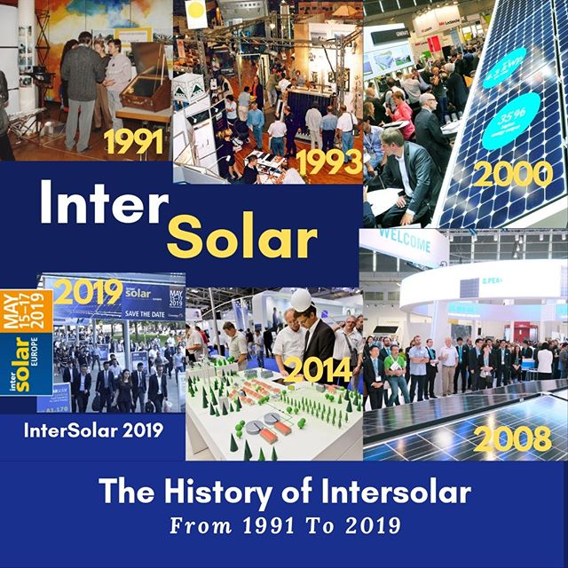 The History of InterSolar - From 1991 To 2019