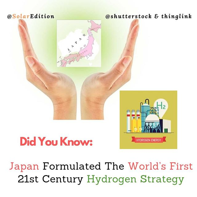 Japan Formulated the World's First 21st-Century Hydrogen Strategy