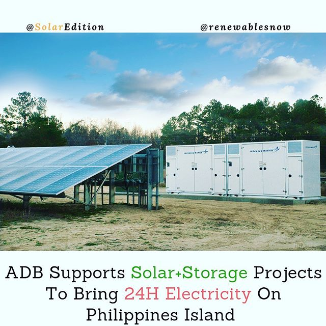 ADB Supports Solar+Storage Projects to Bring 24H Electricity On Philippines Island