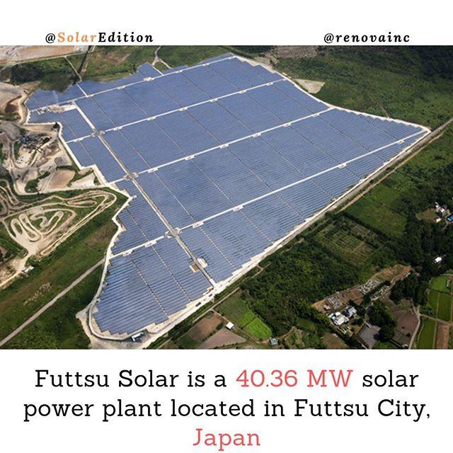 Futtsu Solar is a 40