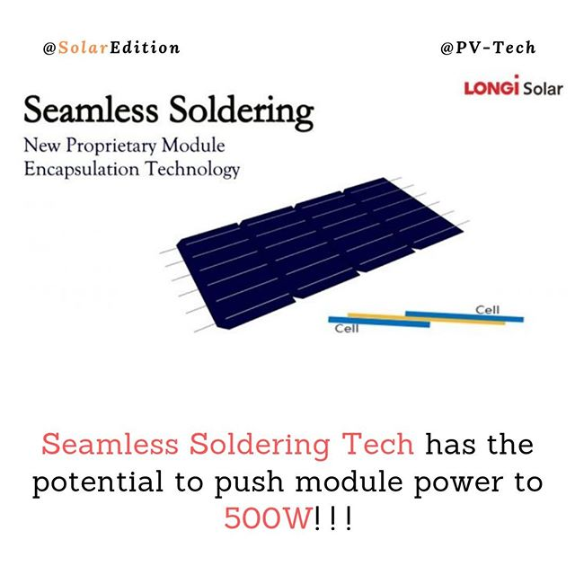 Seamless Soldering Tech has the potential to push module power to 500W! ! !