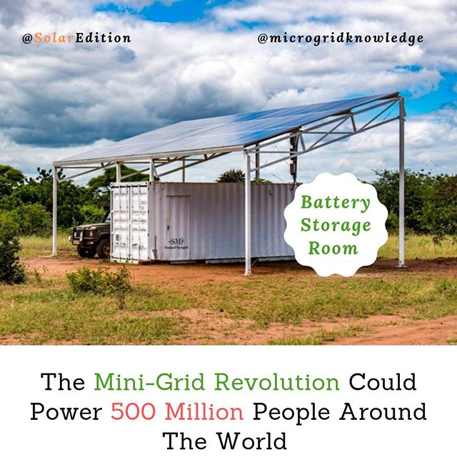 The Mini-Grid Revolution Could Power 500 Million People Around The World