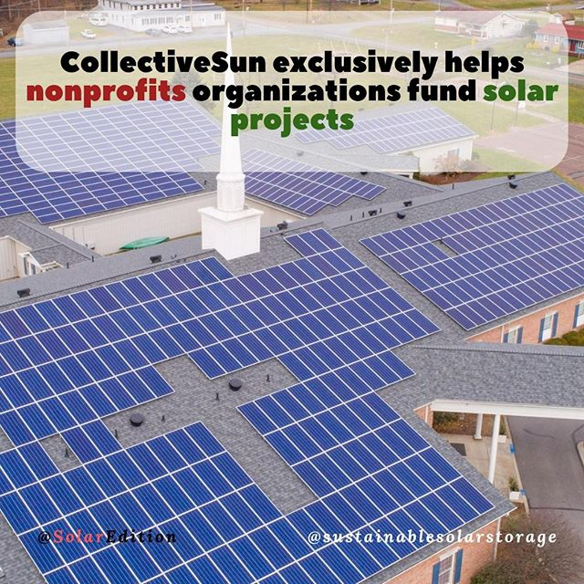 CollectiveSun exclusively helps nonprofits organizations fund solar projects