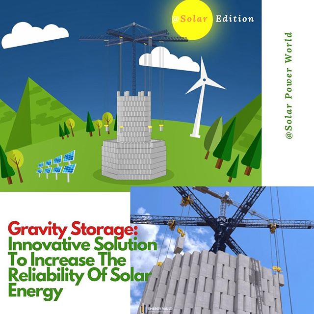 Gravity Storage: Innovative Solution To Increase The Reliability Of Solar Energy