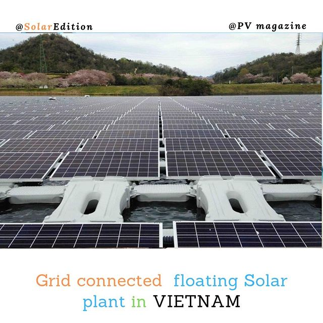 Grid-Connected Floating Solar Power Plant in Vietnam