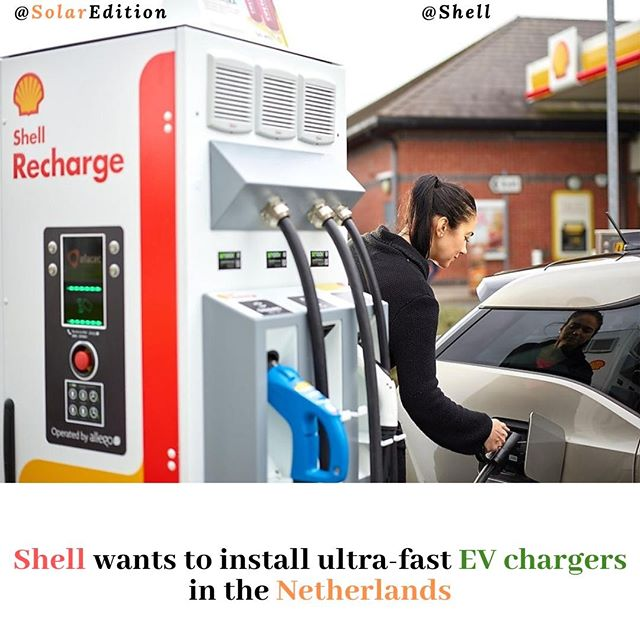 Shell wants to install ultra-fast EV chargers in the Netherlands