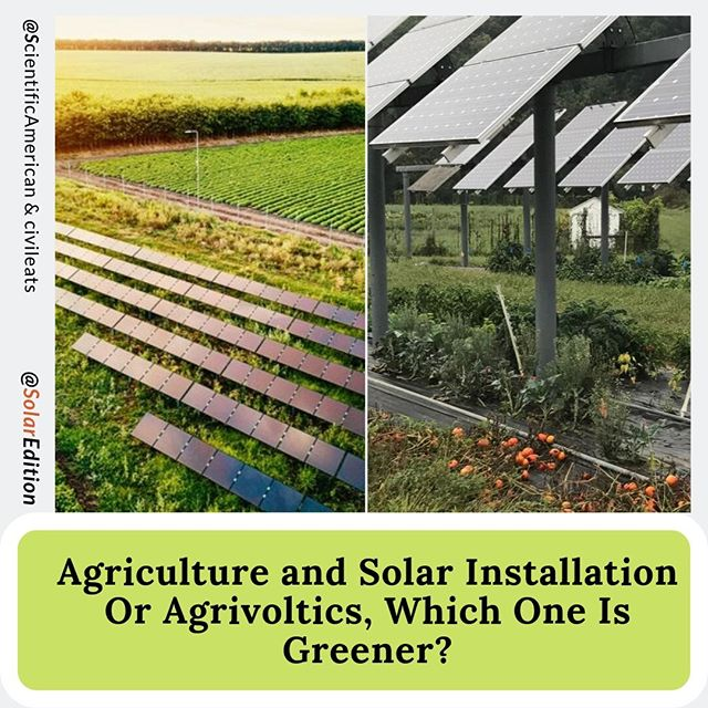 Agriculture and Solar Installation Or Agrivoltics, Which One Is Greener? The solar panels in the fields at the University of Massachusetts Crop Research and Education Center don't look like what most of us have come to expect