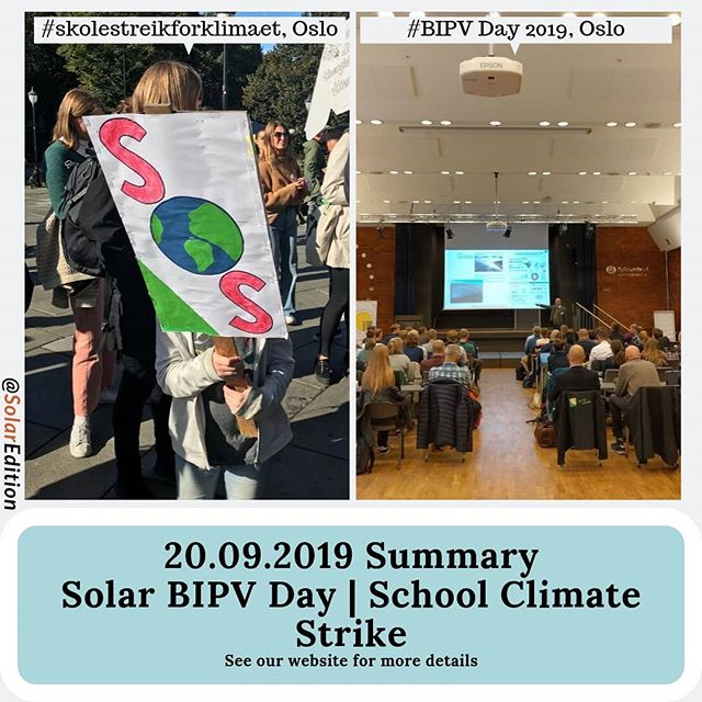 Start of Strike For Climate Changes, 20th of September, See Live Reports from Oslo