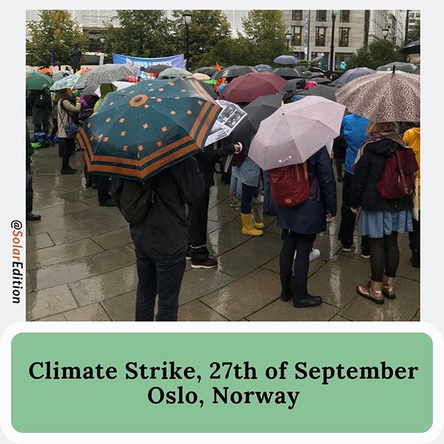 The Strike Continues For Climate, 27th of September, Live Reports from Oslo
