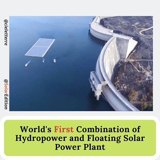 World's First Combination of Hydropower and Floating Solar Power Plant