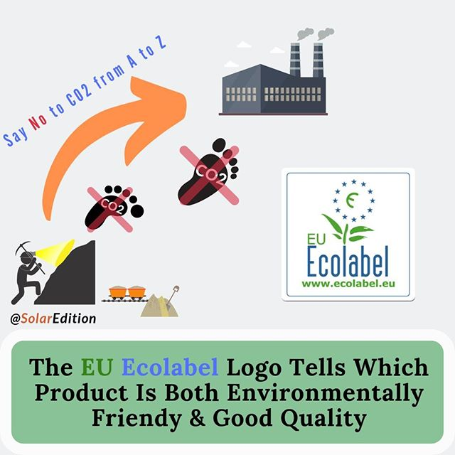 The EU Ecolabel Logo Tells Which Product Is Both Environmentally Friendy & Good Quality