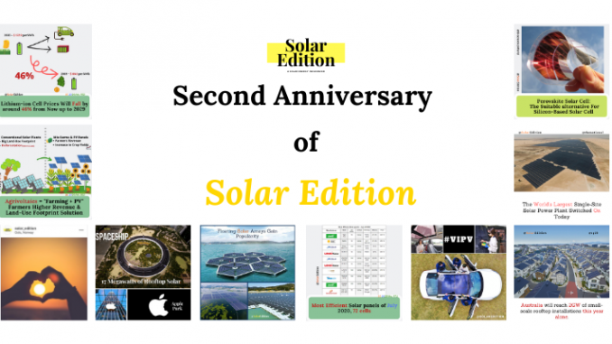 Solar Edition 2nd Anniversary