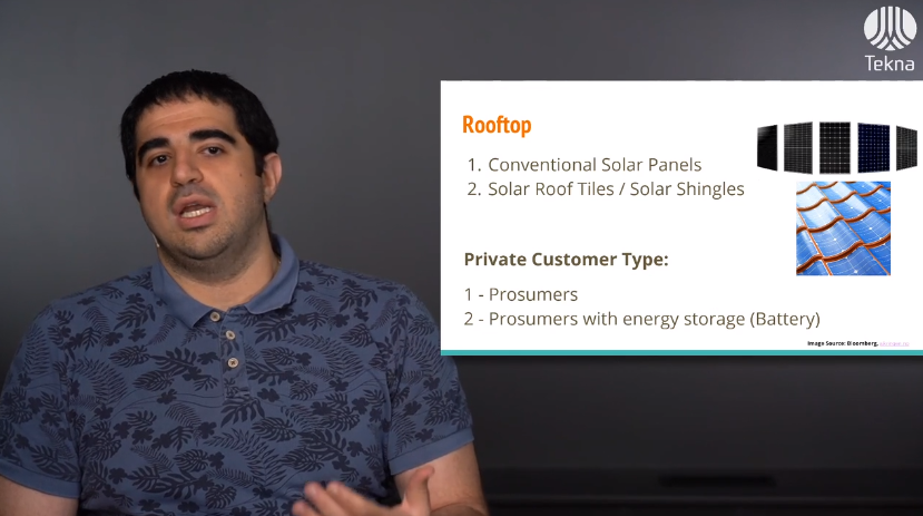 Shahab Moghadam, Solar Edition, Norway during presentation for Tekna webinar on Solar Energy Opportunities in Norway