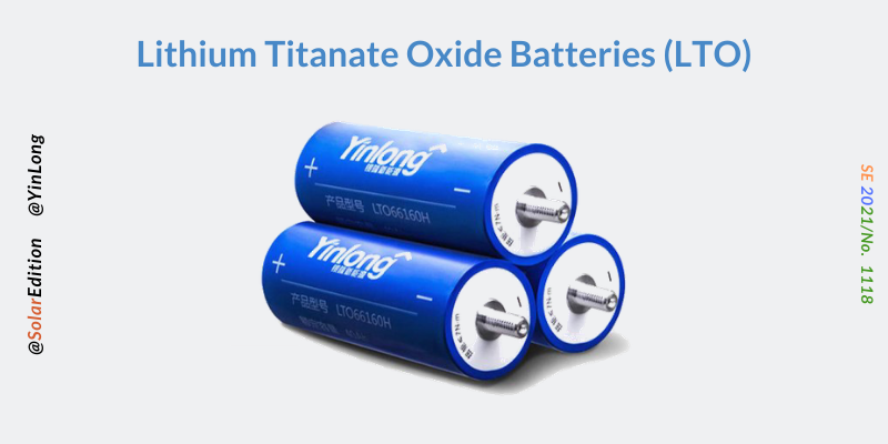 Fig 6: Lithium Titanate Oxide Batteries
